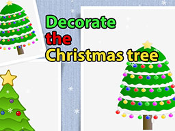 Decorate the Christmas Tree for Kids